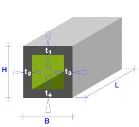Rohre quadratisch oder rechteckig